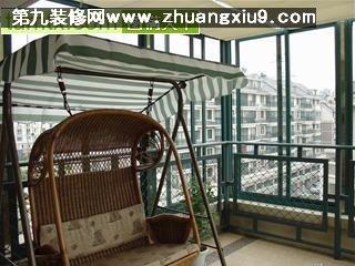d6 家庭室内装修 个性阳台实景图64 阳台装修图片