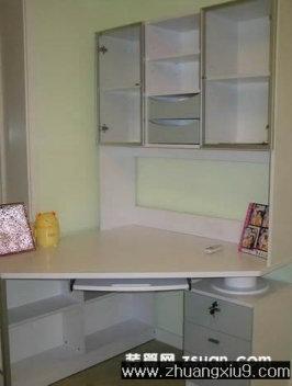 家庭室内装修设计图片之卧室装修图片:现代卧室实景图工作