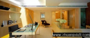 家庭室内装修设计图片之书房装修图片:现代港式书房实景图