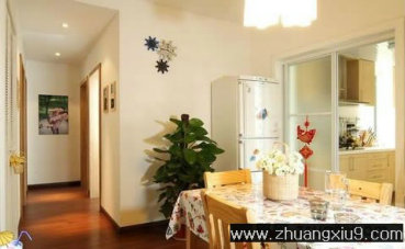 家庭室内装修设计图片之餐厅装修图片:手机壁纸温馨中式餐
