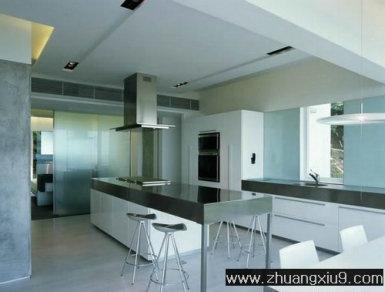 家庭室内装修设计图片之厨房装修图片:厨房装修图片简约中