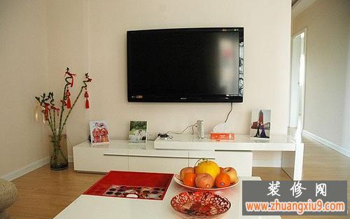 20xx年最新小户型电视墙装修效果图大全1 小户型电视墙装
