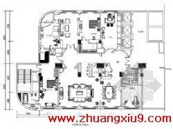总统套房平面设计图 第九装修